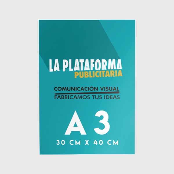Productos - Flyers A3 (Low Cost)