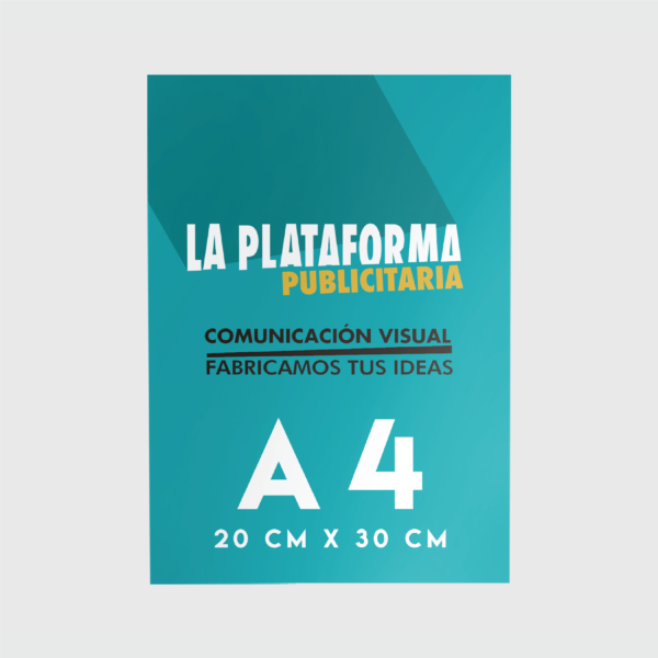Productos - Flyers A4 (Low Cost)
