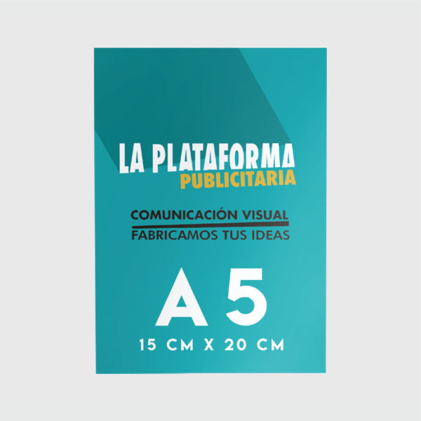 Productos - Flyers A5 (Low Cost)